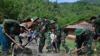 Nhiều hoạt động giúp cơ sở của Bộ đội Biên phòng