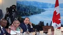 Thủ tướng nêu sáng kiến tại Hội nghị thượng đỉnh G7 mở rộng