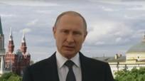 Tổng thống Putin nói lời chào mừng các vị khách của World Cup 2018 tại Nga
