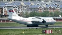 Máy bay chở đồ dùng riêng cho ông Kim Jong-un đang trên đường đến Singapore