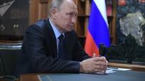 """Putin đến cuộc tập trận """"Vostok-2018"""""""