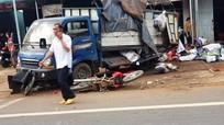 Ôtô tải lao vào chợ khiến 5 người chết