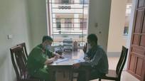 Trở về từ vùng có dịch nhưng không khai báo y tế, nam thanh niên bị phạt tiền