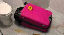 Kinh hoàng phát hiện thi thể không nguyên vẹn trong vali