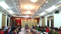 Phó Bí thư Thường trực Tỉnh ủy chủ trì Hội nghị giao ban Khối Nội chính tháng 12