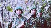 Bộ đội Biên phòng Nghệ An san núi lập chốt, tuần tra giữa rừng băng giá