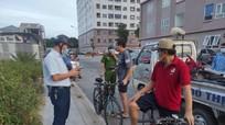 TP Vinh xử phạt 14 trường hợp đi xe đạp thể dục buổi sáng