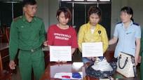 Hai phụ nữ trẻ giấu ma túy trong người nhập cảnh vào Việt Nam