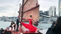 Jessica Minh Anh làm show trên tàu hạng sang ở Hong Kong