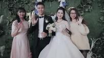 Vợ hoa khôi của cầu thủ Quế Ngọc Hải chuộng váy áo đơn sắc