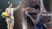 Hoa hậu H'hen Niê làm gãy vương miện