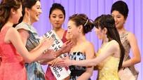 Cô gái 16 tuổi cao 1,59m đăng quang Hoa hậu Thế giới Nhật Bản