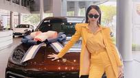 Hoa hậu Hương Giang mua xế hộp hạng sang gần 5 tỷ đồng