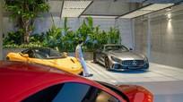 Lóa mắt với bộ sưu tập siêu xe của Cường Đô La