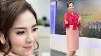 MC 'xinh đẹp nhất VTV' chia sẻ khi được nhận xét 'trông như đĩa nộm'