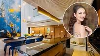 Hoa hậu Ngọc Diễm tự thưởng căn nhà Penthouse 243 m2 nhân dịp sinh nhật tuổi 34