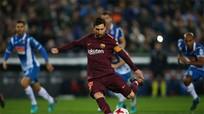 Messi đá hỏng penalty, Barca thua trận đầu tiên trong mùa giải