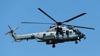 Hai trực thăng quân sự đâm nhau trên không