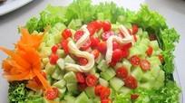 Cách làm 2 loại salad rau tươi ăn giảm cân trong ngày Tết