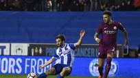 Wigan 1-0 Man City: Vỡ mộng ăn bốn