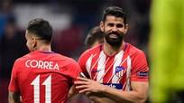 Đại thắng ở lượt đi, Atletico đặt một chân vào tứ kết Europa League