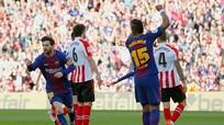 Messi tỏa sáng, Barcelona vững ngôi đầu bảng La Liga