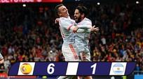 Vắng Messi, Argentina thua thảm Tây Ban Nha