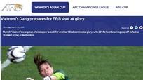 AFC gọi một cầu thủ Việt Nam là biểu tượng Asian Cup