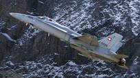 Căn cứ tiêm kích bí mật trong lòng núi của Thụy Sĩ