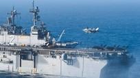 Mỹ đưa tàu khu trục chở F-35B tập trận với Hàn Quốc