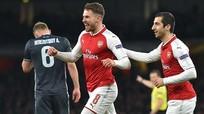 Vùi dập CSKA, Arsenal đặt một chân vào bán kết Europa League