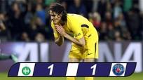 St.Etienne 1-1 PSG: Tội đồ Cavani