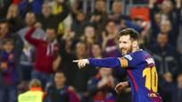 Messi vươn lên số 1 cuộc đua Chiếc giày vàng châu Âu