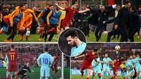 Barcelona bị loại: Ai buồn, ai vui?