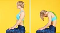 Giảm đau lưng ngay lập tức nhờ bài tập một phút