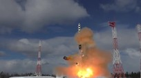Ông Putin sẽ đưa siêu tổ hợp tên lửa đạn đạo tầm 50 triệu tấn thuốc nổ vào biên chế