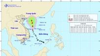 Áp thấp nhiệt đới có thể mạnh lên thành bão số 2