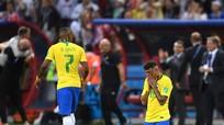 Sốc: Bỉ loại Brazil khổi cuộc chơi World cup, Neymar quỳ gối trong ngày buồn