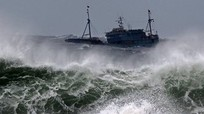 Siêu bão Yutu với sức gió giật cấp 15 gây mưa, biển động dữ dội