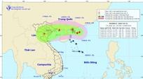 Cảnh báo: Áp thấp trên Biển Đông đã mạnh lên thành bão BEBINCA giật cấp 10