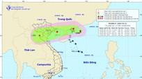 Thông tin mới nhất về cơn bão số 4 (bão BEBINCA) trên Biển Đông