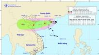 Bão số 4 - Bebinca giật cấp 11, cách bờ biển Nghệ An khoảng 500-600km