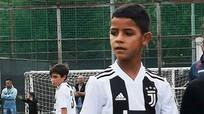 Con trai Ronaldo ghi bốn bàn trong trận ra mắt đội U9 Juventus