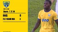 """Vòng 21 V.League: Hat-trick """"lạ"""" của Rimario"""