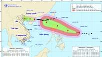Bão số 5 giật cấp 10 áp sát Quảng Ninh, siêu bão MANGKHUT giật trên cấp 17