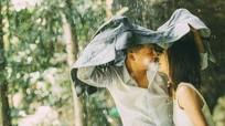 """Ảnh cưới lãng mạn bên thác nước của cặp đôi """"mối tình đầu"""""""