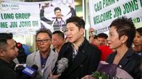 HLV Park Hang-seo và đội tuyển Việt Nam đón khách đặc biệt