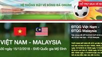 Xuất hiện trang web giả mạo bán vé online trận Việt Nam – Malaysia