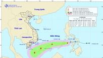 Áp thấp nhiệt đới có khả năng thành bão sẽ đi vào Biển Đông sáng nay