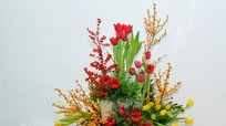 5 gợi ý bày hoa ngày Tết tăng vận may tài lộc cho cả nhà